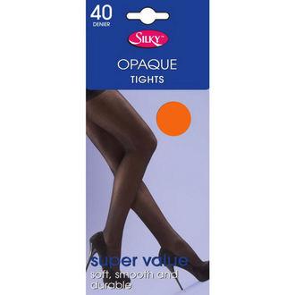 tights LEGWEAR - 40 denier opaque - Neon Orange - SHOP4BORG