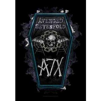flag Avenged Sevenfold - Coffin, HEART ROCK, Avenged Sevenfold
