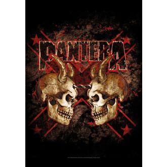 flag Pantera - Double Skull - HFL1092