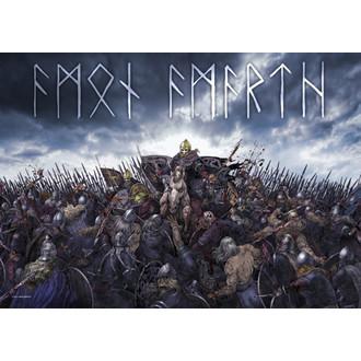 flag Amon Amarth - Battlefield, HEART ROCK, Amon Amarth