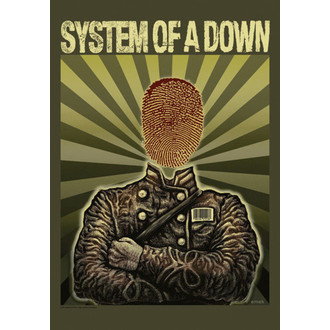 flag System Of A Down - Soldier, HEART ROCK, System of a Down