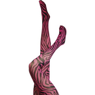 tights LEGWEAR - Signature Zebra - Pink