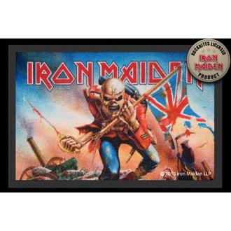doormat Iron Maiden - Trooper - ROCKBITES, Rockbites, Iron Maiden
