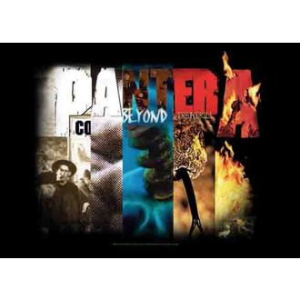 flag Pantera - Album Collage, HEART ROCK, Pantera