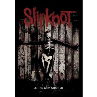 flag Slipknot - The Gray Chapter, HEART ROCK, Slipknot