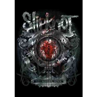flag Slipknot - Des Moines, HEART ROCK, Slipknot