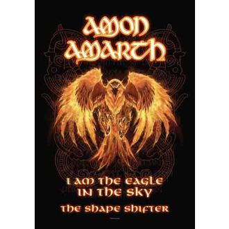flag Amon Amarth - Burning Eagle, HEART ROCK, Amon Amarth