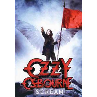 flag Ozzy Osbourne - Scream, HEART ROCK, Ozzy Osbourne