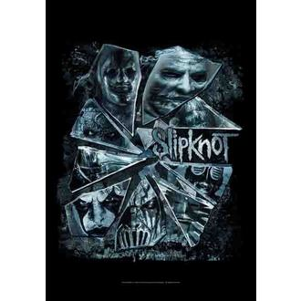 flag Slipknot - Broken Glass, HEART ROCK, Slipknot