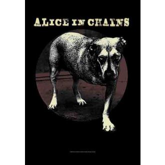 flag Alice In Chains - Grin, HEART ROCK, Alice In Chains