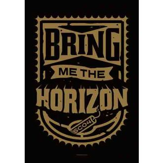 flag Bring Me The Horizon - Dynamite Shield, HEART ROCK, Bring Me The Horizon