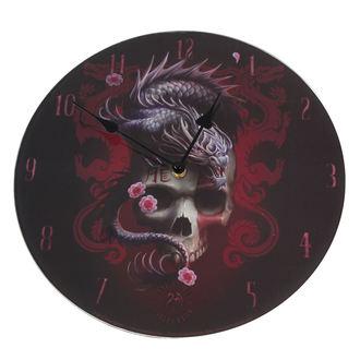 clock Dragon Skull