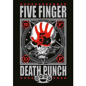flag Five Finger Death Punch - Punchagram, HEART ROCK, Five Finger Death Punch