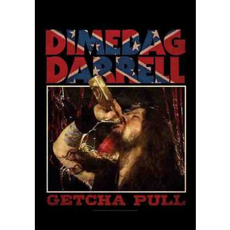 flag Dimebag Darrel - Getcha Pull, HEART ROCK, Dimebag Darrell