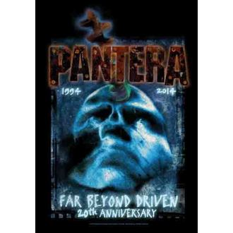 flag Pantera - Far Beyond 20th Anniversary, HEART ROCK, Pantera