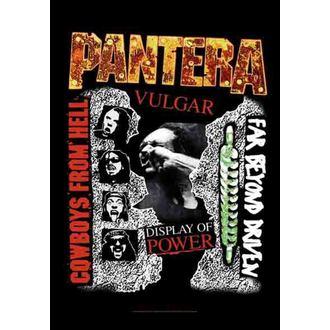 flag Pantera - 3 Albums, HEART ROCK, Pantera