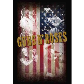 flag Guns N'Roses - Collage, HEART ROCK, Guns N' Roses