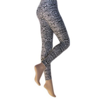 pants women (leggings) Legwear - Zebra, LEGWEAR
