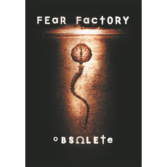 flag Fear Factory - Obsolete, HEART ROCK, Fear Factory
