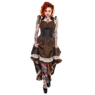 dress women BANNED - Brown Stripe, BANNED