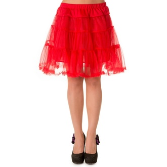 skirt women's (petticoat) BANNED - Red - SBN202