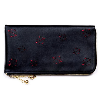 wallet (love letter) BANNED - Black, BANNED