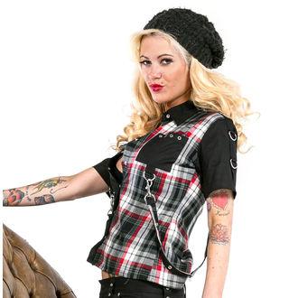 shirt women's DEAD Threads - Black / White / Red, DEAD THREADS