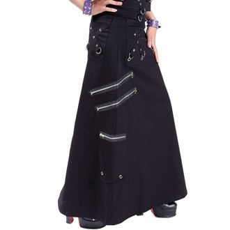 kilt women's DEAD Threads - Black, DEAD THREADS