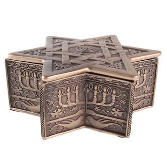 box (decoration) Star of David & Menorah