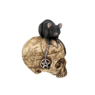 decoration (box) Salem Skull
