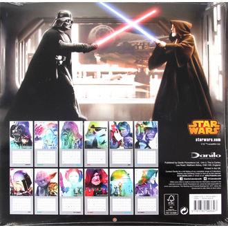 calendar to year 2016 - Star Wars