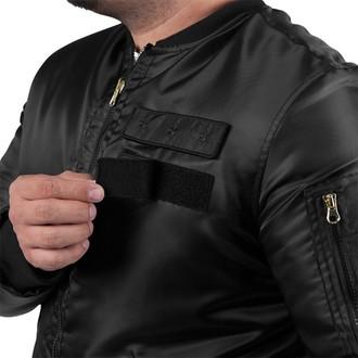 jacket men FAMOUS STARS & STRAPS - Covert MA - Black - FM03150021