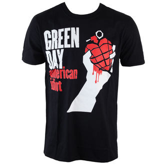 t-shirt metal men's Green Day - American Idiot - ROCK OFF - GDTS12MB