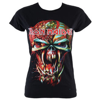 t-shirt metal women's Iron Maiden - Final Frontier Eddie - ROCK OFF - IMTEE18LB