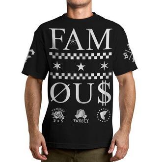 t-shirt street men's - Times - FAMOUS STARS & STRAPS - Black