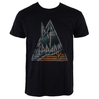 t-shirt metal men's Def Leppard - Pyramid - LIVE NATION, LIVE NATION, Def Leppard