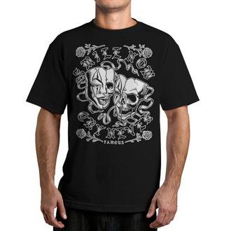 t-shirt street men's - Never - FAMOUS STARS & STRAPS - Black