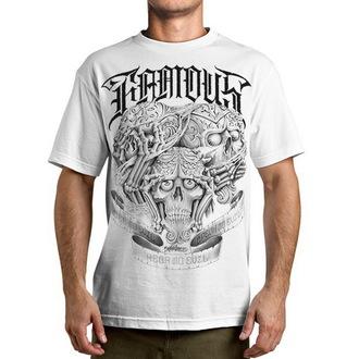 t-shirt street men's - No evil - FAMOUS STARS & STRAPS - White