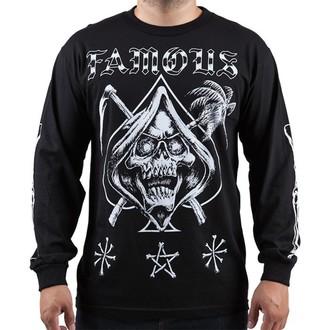 t-shirt street men's - Relax Reaper - FAMOUS STARS & STRAPS - Black