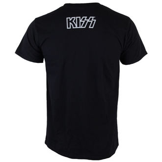 t-shirt metal men's Kiss - Gene Face - LIVE NATION, LIVE NATION, Kiss
