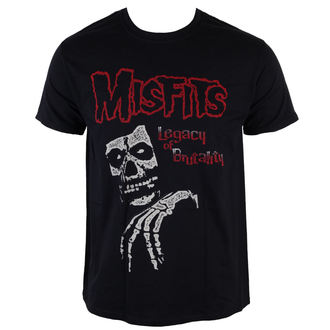 t-shirt metal men's Misfits - Legacy Of Brutality - LIVE NATION, LIVE NATION, Misfits