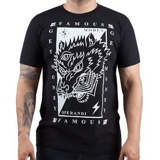 t-shirt street men's - Wolf Money - FAMOUS STARS & STRAPS, FAMOUS STARS & STRAPS