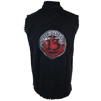vest men's Black Sabbath - 13 Circular - RAZAMATAZ, RAZAMATAZ, Black Sabbath