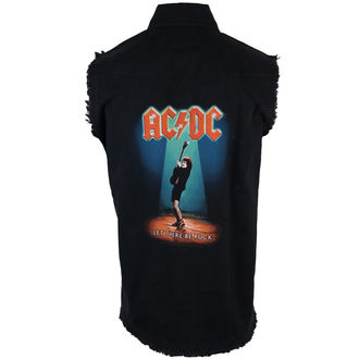 vest men's AC-DC - Let There Be Rock - RAZAMATAZ, RAZAMATAZ, AC-DC