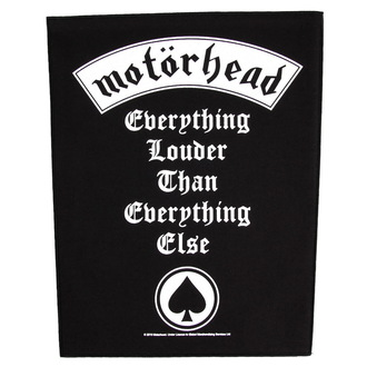 patch large Motörhead - Everything Louder - RAZAMATAZ, RAZAMATAZ, Motörhead