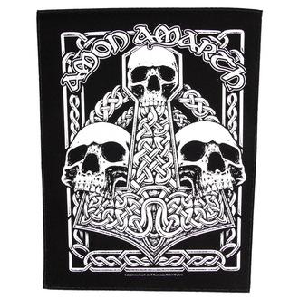 patch large Amon Amarth - Three Skulls - RAZAMATAZ - BP0893