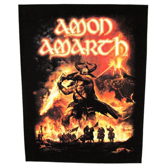 patch large Amon Amarth - Surtur Rising - RAZAMATAZ - BP0908