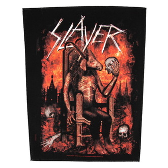 patch large Slayer - Devil On Throne - RAZAMATAZ, RAZAMATAZ, Slayer
