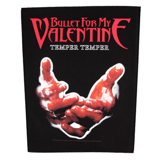 patch large Bullet For My Valentine - Temper Temper - RAZAMATAZ, RAZAMATAZ, Bullet For my Valentine