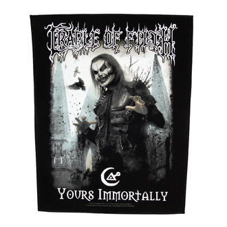 patch large Cradle of Filth - Yours Immortally - RAZAMATAZ, RAZAMATAZ, Cradle of Filth